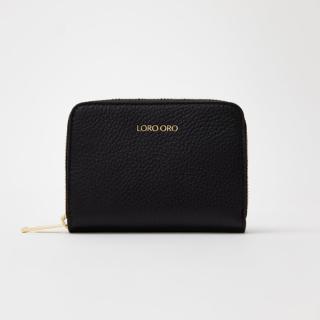 Černá Peněženka Loro Oro Nero dámské One size