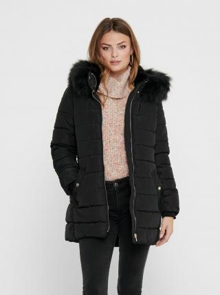 Černá zimní prošívaná bunda ONLY dámské S