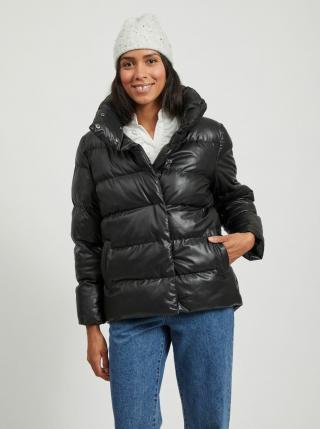 Černá zimní prošívaná bunda VILA dámské L