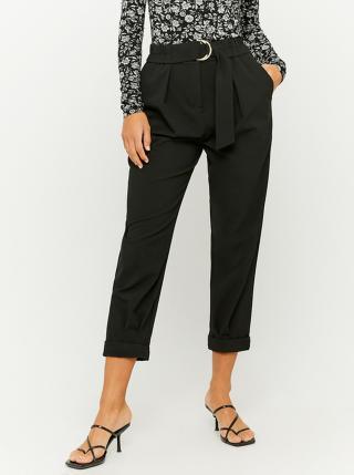 Černé 3/4 kalhoty s páskem TALLY WEiJL dámské černá S