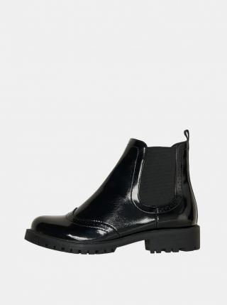 Černé chelsea boty VERO MODA Gloriathea dámské černá 39