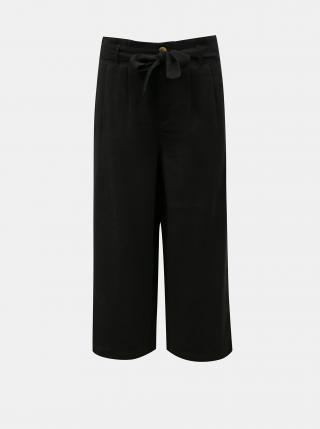 Černé culottes se zavazováním ONLY Aminta dámské černá S