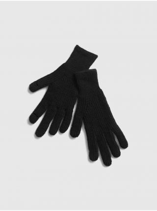 Černé dámské rukavice GAP dámské černá ONE SIZE