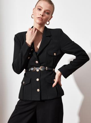 Černé dámské sako Trendyol dámské černá L