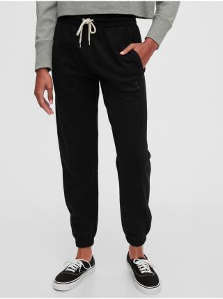 Černé dámské tepláky GAP dámské černá XL
