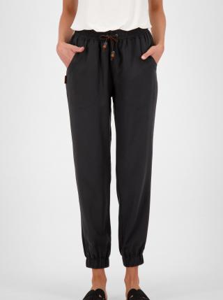 Černé dámské zkrácené kalhoty Alife and Kickin dámské černá S