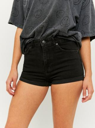 Černé džínové kraťasy TALLY WEiJL dámské černá XL