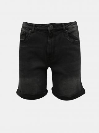 Černé džínové kraťasy VERO MODA Joana dámské černá XS