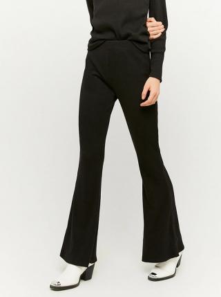 Černé flared fit kalhoty TALLY WEiJL - M dámské černá M