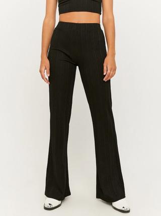 Černé flared fit kalhoty TALLY WEiJL - S dámské černá S
