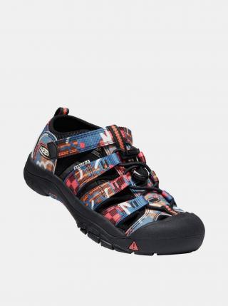 Černé klučičí vzorované sandály Keen černá 24
