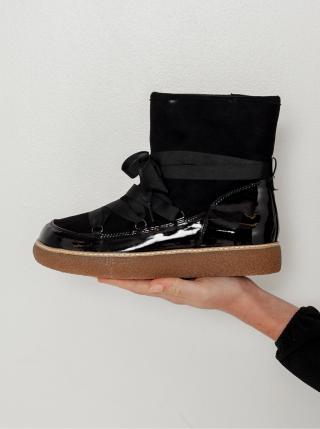 Černé kotníkové boty CAMAIEU dámské černá 36