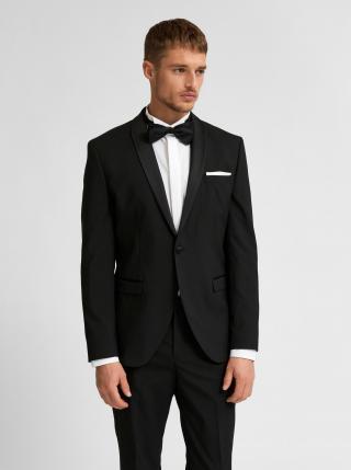 Černé oblekové sako Selected Homme pánské černá XXS-