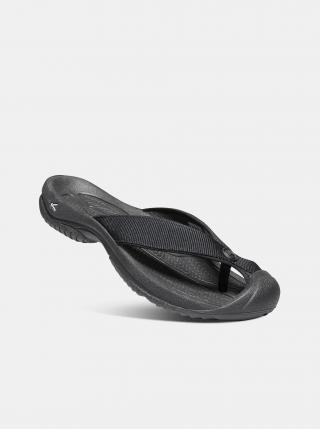 Černé pánské žabky Keen pánské černá 42