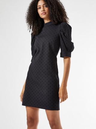 Černé puntíkované šaty Dorothy Perkins dámské černá XXL