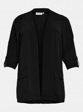 Černé sako ONLY CARMAKOMA Jackie dámské černá XL