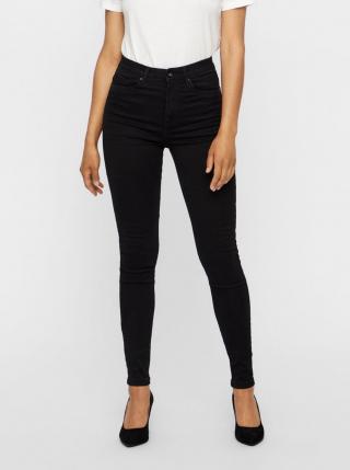 Černé skinny fit džíny VERO MODA Sophia dámské černá S