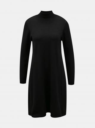 Černé svetrové šaty VERO MODA Glory - XS dámské černá XS