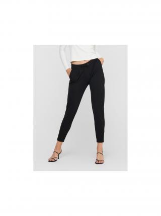 Černé zkrácené kalhoty Jacqueline de Yong Pretty dámské černá M