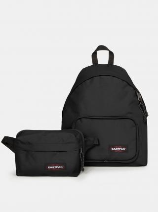 Černý batoh s ledvinkou Eastpak pánské černá