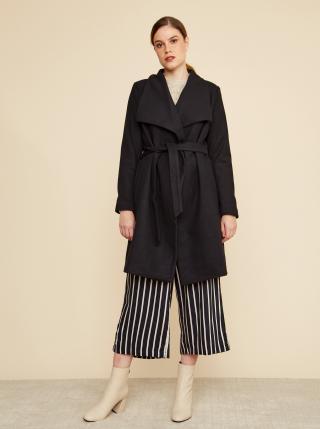 Černý dámský kabát s příměsí vlny ZOOT Timea dámské černá XL