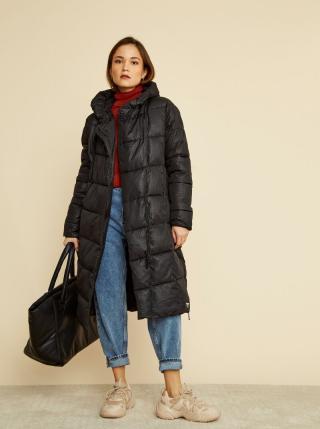 Černý dámský zimní prošívaný kabát ZOOT Gizela dámské černá XL