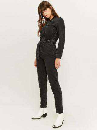 Černý džínový overal TALLY WEiJL - XL dámské černá XL