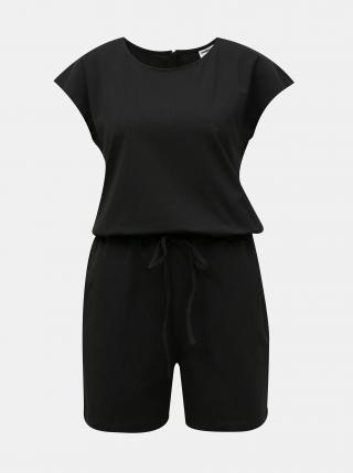 Černý krátký overal se zavazováním Noisy May Simma dámské černá XS