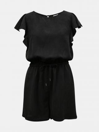 Černý krátký overal se zavazováním VILA Isabel dámské černá S