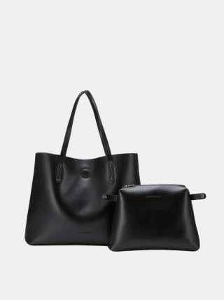 Černý shopper s odnímatelným pouzdrem Claudia Canova dámské černá