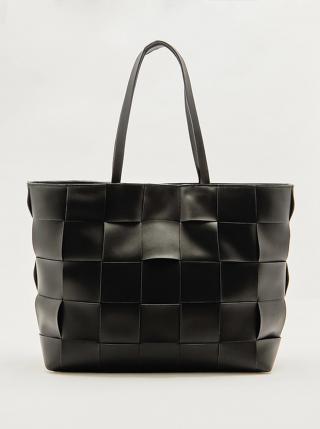 Černý shopper TALLY WEiJL dámské černá