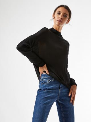 Černý volný lehký svetr Dorothy Perkins dámské černá S