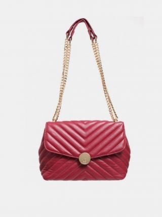 Červená crossbody kabelka Bessie London dámské