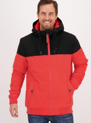 Červená pánská zimní bunda Alife and Kickin pánské L