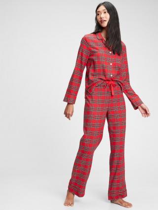 Červené dámské pyžamo GAP dámské červená S