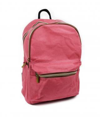 Červený papírový batoh