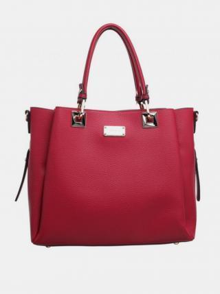 Červený shopper Bessie London dámské červená