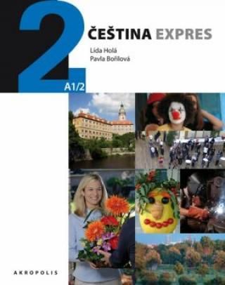 Čeština expres 2  - španělsky   CD - Lída Holá