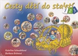 Cesty dětí do staletí - BOX 3 knihy - Kateřina Schwabiková