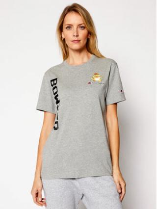Champion T-Shirt Champion x Super Mario Bros.™ Anniversary Unisex 216871 Šedá Regular Fit XL