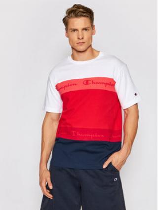 Champion T-Shirt Graphic 215948 Červená Comfort Fit pánské S