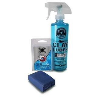 Chemical Guys Clay Bar & Luber Synthetic Lubricant Kit, Light Duty