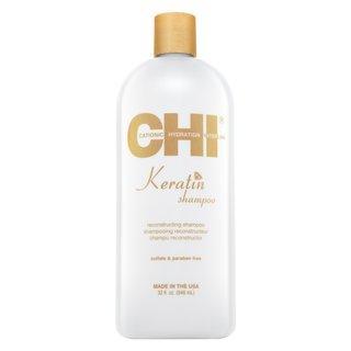 CHI Keratin Shampoo uhlazující šampon pro hrubé a nepoddajné vlasy 946 ml