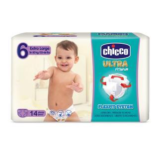 CHICCO Chicco Ultra Extra Large  14 ks - jednorázové pleny