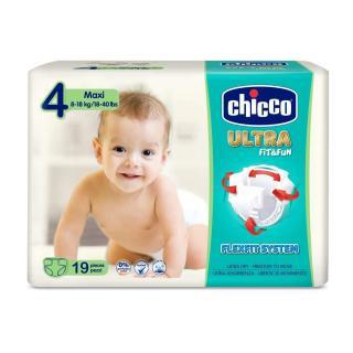CHICCO Chicco Ultra Maxi  19 ks - jednorázové pleny