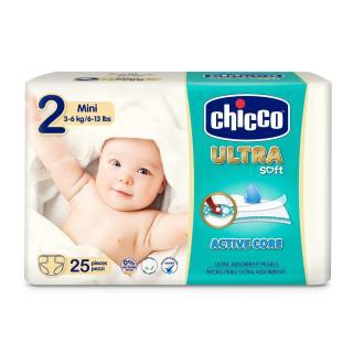 CHICCO Chicco Ultra Mini  25 ks - jednorázové pleny