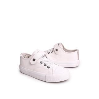 Childrens Leather Sneakers BIG STAR EE374035 White Neurčeno 35