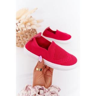Childrens Slip-On Sneakers Big Star HH374102 Fuchsia Neurčeno 31