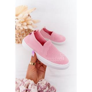 Childrens Slip-On Sneakers Big Star HH374103 Pink Neurčeno 30