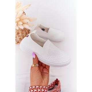 Childrens Slip-On Sneakers Big Star HH374105 White Neurčeno 31